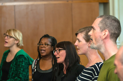 Singing at my Peckham Choir - Peckham Rye Sings