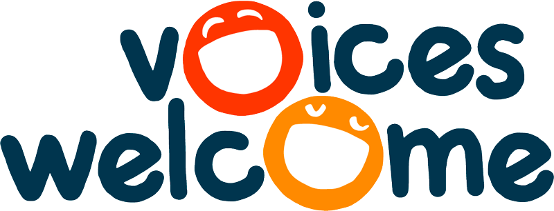 Voices Welcome logo